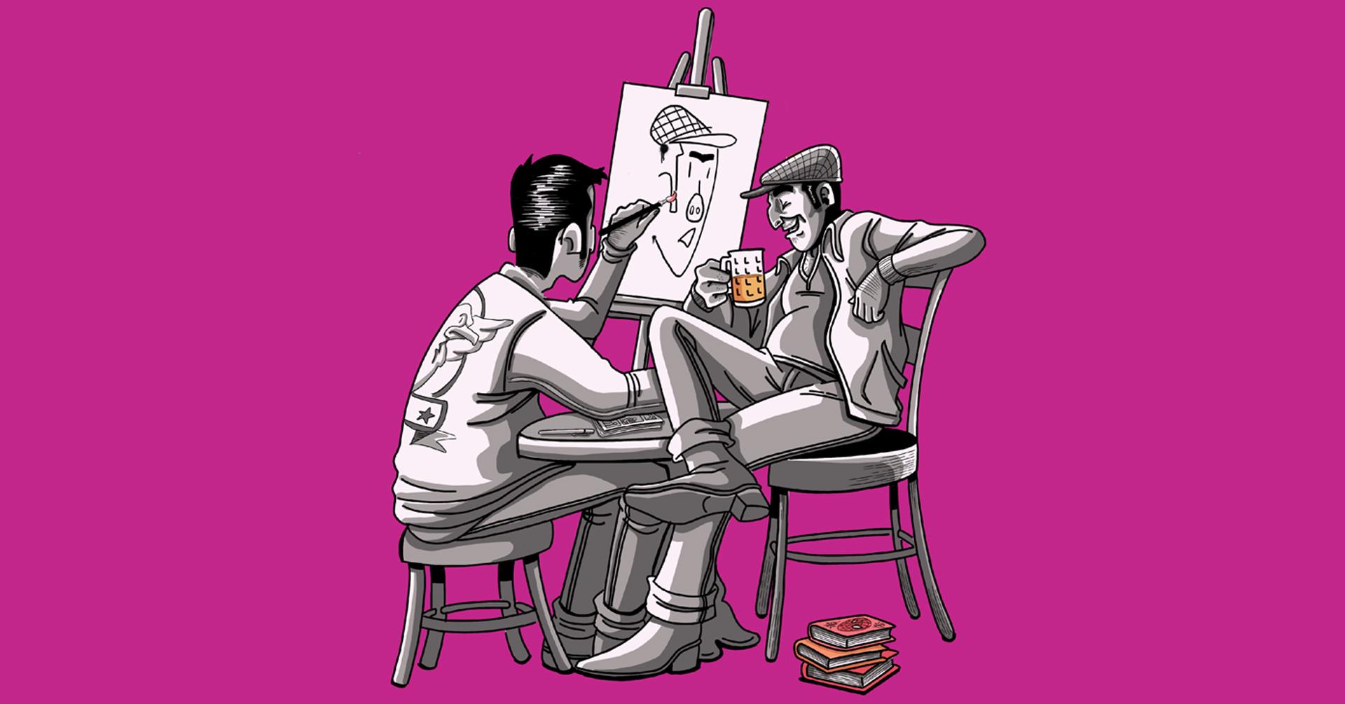 Comics, Art & Beer